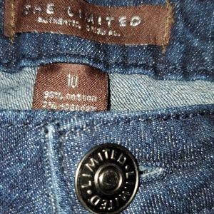 The Limited size 10 jean capri